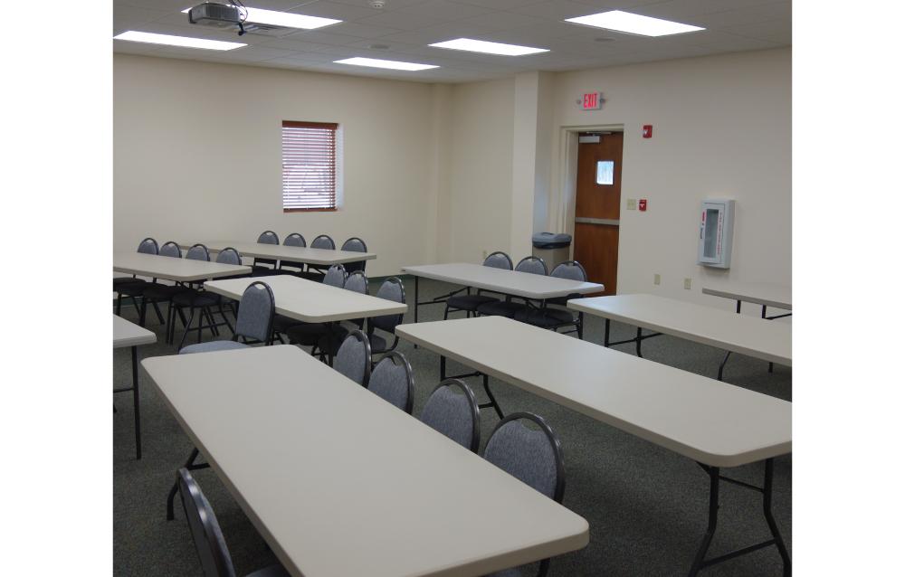 Mount Hermon Fire Training Room