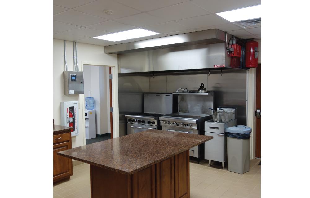 Mount Hermon Fire Kitchen