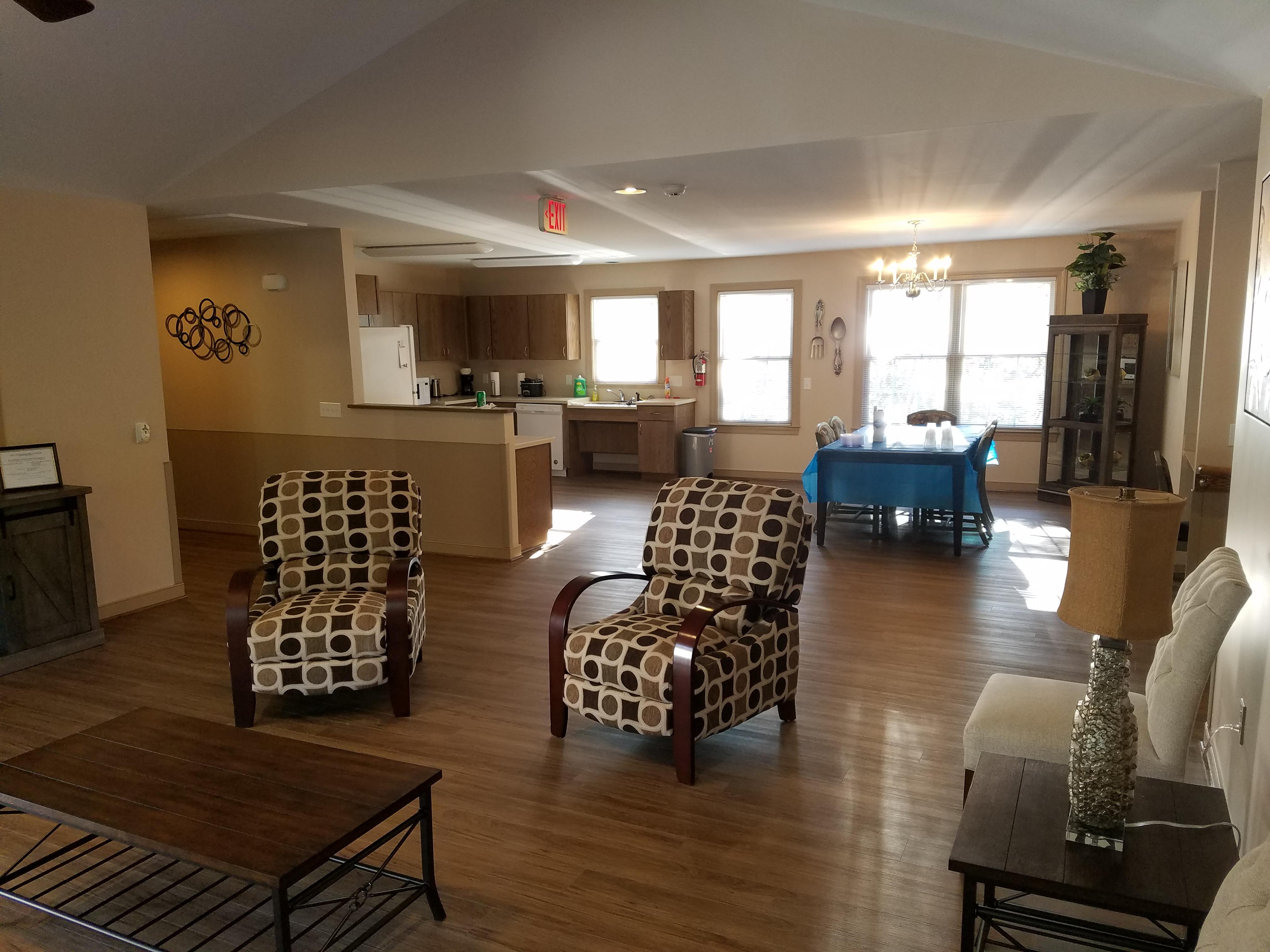 livingroom kitchen area